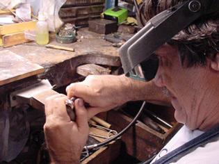 Jewelry Designer Dan Baker