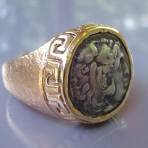 Alexander the Great, 14kt Ring