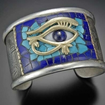 Eye of Horus Inlay Bracelet