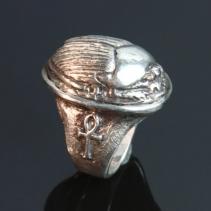 Scarab SS Ring