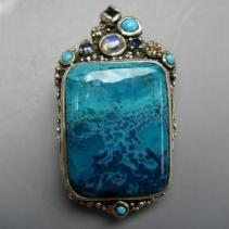 Oceanite, SS Pendant