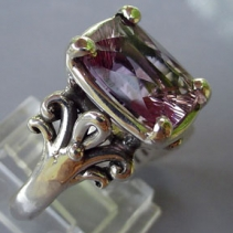 Ametrine, Sterling Silver Ring