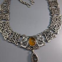 Sterling Silver Celtic Knotwork Necklace